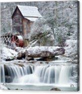 Winter's Rest Acrylic Print