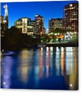 Hartford Lights Acrylic Print