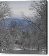 Winters Retreat Acrylic Print
