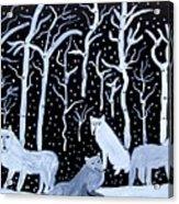 Winters Sentinels Acrylic Print