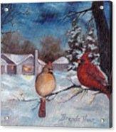 Winters Serenity Acrylic Print