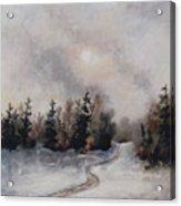 Winters Sunset Acrylic Print