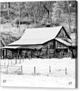 Winter's White Shroud Acrylic Print by Tom Mc Nemar