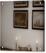 Winterthur By Candlelight Acrylic Print