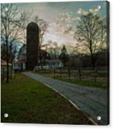 Winterwood Farm Acrylic Print