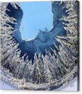 Wintery Acrylic Print