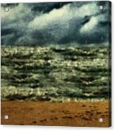 Winter Whitecaps Acrylic Print