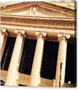 Wintrust Financial Corporation Acrylic Print
