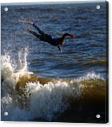 Wipe Out Acrylic Print