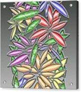 Wire Flowers Acrylic Print
