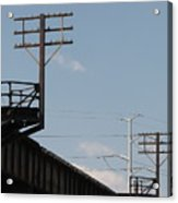 Wire Terminal Structures Acrylic Print