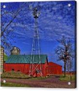 Wisconsin Amish Farm Acrylic Print