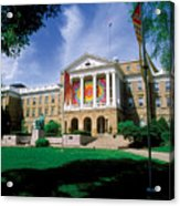 Wisconsin Bright Colors At Bascom Acrylic Print by UW Madison University Communications