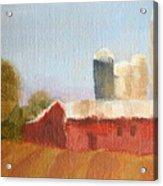 Wisconsin Farmland Acrylic Print
