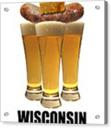 Wisconsin Food Pyramid Acrylic Print