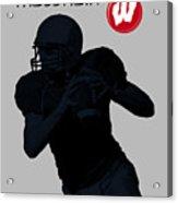 Wisconsin Football Acrylic Print