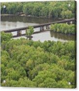 Wisconsin River Overlook 2 Acrylic Print