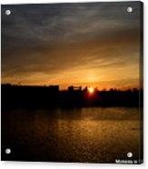 Wisconsin Sunset 10 Acrylic Print