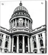 Wisconsin's Capitol Acrylic Print
