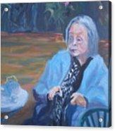 Wisdon In Carmel Acrylic Print