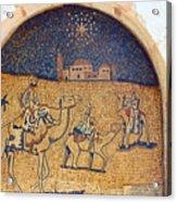 Wise Men Reaching Beit Sahour Acrylic Print
