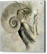 Wish On A Pearl Acrylic Print
