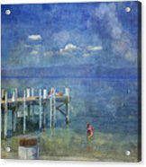 Wish You Were Here Chambers Landing Lake Tahoe Ca Acrylic Print