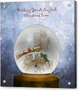 Wishing You A Magical Christmas Time Acrylic Print