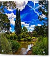 Wisley Gardens Acrylic Print