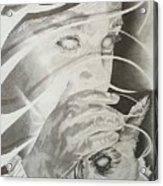 Wisper Black Ribbon Collection#2 Acrylic Print