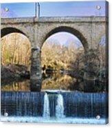 Wissahickon Viaduct Acrylic Print