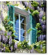Wisteria In Provence Acrylic Print