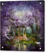 Wisteria Lake Acrylic Print