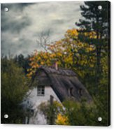 Witch Cottage Acrylic Print