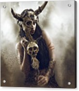 Witch Doctor 2 Acrylic Print