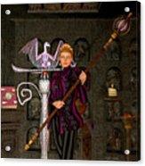 Witch Ritual Acrylic Print