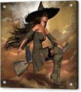 Witch Way  Acrylic Print
