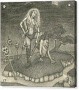 Witch Woman Acrylic Print