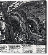 Witches Sabbath, 1630 Acrylic Print