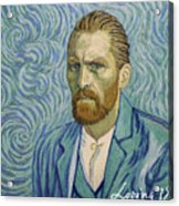 With A Handshake - Your Loving Vincent Acrylic Print