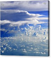 Within Clouds Acrylic Print