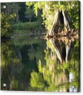 Withlacoochee Cypress Reflections Acrylic Print