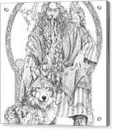 Wizard IIi - The Family Portrait Acrylic Print