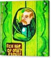 Wizard Of Oz Gate Keeper  Acrylic Print