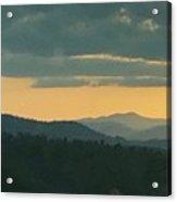 Wnc Sunsets Acrylic Print