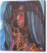 Virtuous Wodaabe Girl          From The Attitude Girls  Acrylic Print