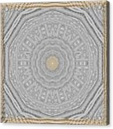 Wodden Sacred Popart Acrylic Print