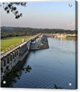 Wolf Creek Dam Acrylic Print by Amber Flowers