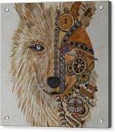 Wolf Machine Acrylic Print