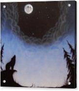 Wolf Moon Acrylic Print
